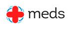 Переход на страницу интернет ресурса «Meds»