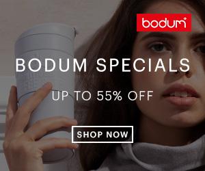 Klik hier voor de korting bij Bodum