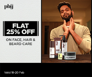 300x250_25% Off face, hair and beard care ranges